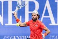 """Visą sezoną dominavęs S.Tsitsipas pralaimėjo dramatišką """"Ultimate Tennis Showdown"""" finalą"""