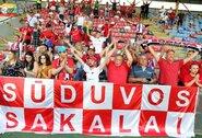 """""""Sūduvos"""" debiutinėse rungtynėse – iki 300 žmonių, nuo birželio 15 d. – iki 500"""