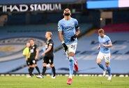 """R.Mahrezas pelnė """"hat-trick'ą"""", o """"Man City"""" eilinį kartą įveikė """"Burnley"""""""