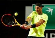 R.Nadalis ir N.Djokovičius susitvarkė su varžovais, jaunųjų italų stebuklai baigėsi