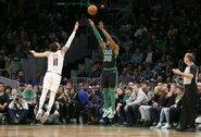 """""""Celtics"""" gynėjas įmetė 11 tritaškių"""