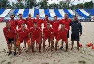 """Paplūdimio rinktinė prieš atranką į pasaulio čempionatą: """"Esame realistai – šansų neturime nedaug"""""""