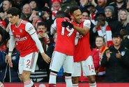 """5 įvarčių drama baigėsi """"Arsenal"""" pergale prieš """"Everton"""""""