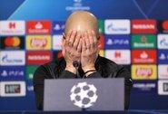 """""""Manchester City"""" žaidėjams švenčių nebus: P.Guardiola liepė praleisti kalėdinius vakarėlius"""