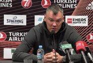 """Nuomonę apie koronavirusą ir žaidimą be žiūrovų sau pasilikęs Š.Jasikevičius: """"Man nereikia nieko mąstyti, aš esu darbuotojas, krepšinio treneris"""""""