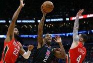 """80 taškų per pirmąją mačo pusę praleidusi """"Clippers"""" vis tiek įsirašė pergalę"""