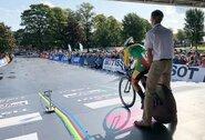 A.Gedraitytė debiutavo pasaulio plento dviračių čempionato elito grupėje