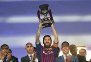 """L.Suarezas: """"L.Messi buvo blogai suprastas dėl karjeros pabaigos planų"""""""