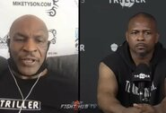 """M.Tysonas atskleidė, kiek raundų ištveria sparinge: """"Nesuprantu tų, kurie sako, kad tai bus netikra kova"""""""