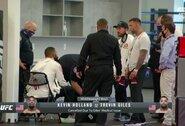 """""""Prakeiktas"""" UFC turnyras: T.Gilesas nualpo prieš kovos pradžią, G.Meerschaertas užsikrėtė koronavirusu"""