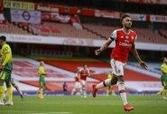 """Paaiškėjo, kokių sąlygų reikalauja P.E.Aubameyangas, jog sutiktų likti """"Arsenal"""""""
