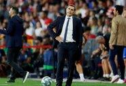 """E.Valverde prisiėmė atsakomybę už """"Barcelonos"""" blogiausią sezono startą per pastaruosius 25 metus"""