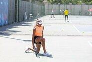 Olimpinio festivalio starte – imtynininkų ir tenisininkų kovos