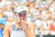 C.Wozniacki po paskutinio karjeros mačo nesulaikė ašarų, S.Williams atsiprašė dėl neprofesionalumo