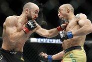 """""""UFC 245"""": į žemesnę svorio kategoriją nusileidęs J.Aldo patyrė antrą pralaimėjimą iš eilės"""