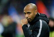 """T.Henry svajoja apie trenerio darbą """"Barcelonos"""" klube"""