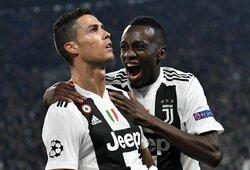 C.Ronaldo įvardijo geriausius žaidėjus, su kuriais jam teko žaisti
