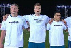 Norvegai nusprendė neboikotuoti pasaulio futbolo čempionato Katare