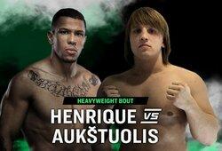 """Oficialu: paaiškėjo T.Aukštuolio varžovas """"ARES 2"""" turnyre, laukia septynias kovas UFC turėjęs brazilas"""