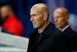 """ESPN: spaudimą Z.Zidane'ui dėl rezultatų didinantis """"Real"""" jau pradėjo ieškoti pamainos?"""