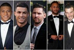 Top 20: daugiausiai per metus uždirbantys pasaulio futbolininkai