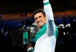 Ar N.Džokovičius apgins Romos turnyro čempiono titulą?
