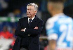 """Napoli"" prezidentas A.De Laurentiis išreiškė pasitikėjimą C.Ancelotti"