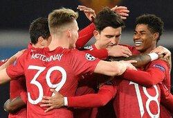 """Čempionų lyga: """"RB Leipzig"""" sutriuškinęs """"Man Utd"""" tapo vienvaldžiu H grupės lyderiu"""