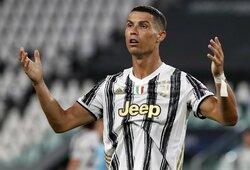 """""""Juventus"""" nori atsikratyti C.Ronaldo: jau pateikė pasiūlymą Ispanijos klubui"""
