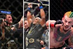 """""""UFC 252"""" pristatymas ir prognozės: geriausia visų laikų trilogija ir paskutinė D.Cormier karjeros kova bei amerikietiškojo C.McGregoro sugrįžimas"""