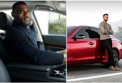 L.Jamesas prieš S.Curry: kurio automobilių kolekcija įspūdingesnė?