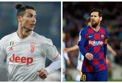 Įvardijo geriausius futbolininkus – yra geresnių už C.Ronaldo ir L.Messi