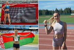 """Baltarusijoje kritikuojama K.Timanovskaja: """"Baltarusijos neišdaviau, myliu savo šalį"""""""