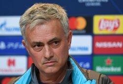 """J.Mourinho įvedė naują draudimą """"Tottenham"""" žaidėjams, susijusį su """"Bayern"""""""