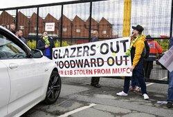 """Protestų kaina: """"Man United"""" prarado 200 mln. svarų vertės sutartį"""