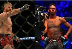 I.Adesanya ar J.Blachowiczius? UFC kovotojai pabandė atspėti, kas laimės dviejų čempionų kovą