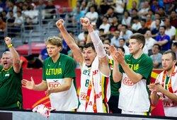 Lietuviai sutriuškino Kanadą ir užsitikrino vietą kitame etape