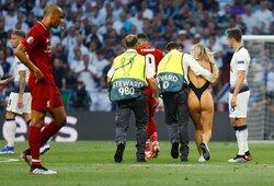 """K.Wolanski po išbėgimo į aikštę Čempionų lygos finale sulaukė dviejų """"Liverpool"""" žaidėjų žinučių"""