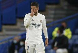"""""""Real"""" 94-ąją minutę išplėšė dramatiškas lygiąsias su """"Sevilla"""""""