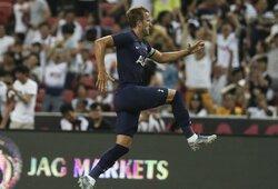"""Prieš """"Juventus"""" nuo vidurio aikštės pasižymėjęs H.Kane'as: """"Tai tikriausiai vienas geriausių mano pelnytų įvarčių karjeroje"""""""