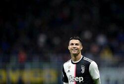 """""""Juventus"""" atskleidė, kokia ateitis laukia C.Ronaldo"""