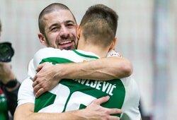 """I.Tatomirovičius: """"Futbolas tai ne tik įvykiai aikštėje, bet ir pokalbiai rūbinėje, bendravimas. To trūksta"""""""