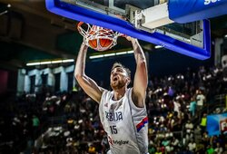 Serbija laimėjo devintą kartą iš eilės