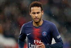 """ESPN: PSG atmetė 190 mln. eurų vertės """"Barcelonos"""" pasiūlymą už Neymarą"""