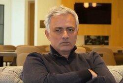 """J.Mourinho apie Europos čempionatą: """"Matau tik vieną stipriai išsiskiriančią rinktinę"""""""