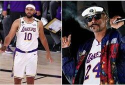 """""""Snoop Dogg"""" užsipuolė D.Greeną, kurį užstojo J.Dudley"""