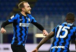 "A.Conte patvirtino: Ch.Eriksenas liks ""Inter"" klube"