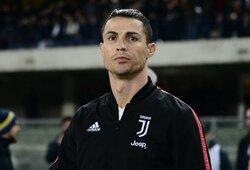 """L.Dončičių paauglystėje įvykęs susitikimas su C.Ronaldo paliko be žado: """"Negalėjau net kalbėti"""""""