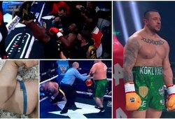 """Galiūnas M.Kokliajevas į ringą grįžo pergalingai, M.Novosiolovas pribaigė didžiausių bicepsų Rusijoje savininką, o V.Dacikas """"išmušė"""" varžovą iš ringo"""