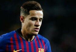 """""""Barcelona"""" pasiekė susitarimą su """"Bayern"""" išnuomoti P.Coutinho"""